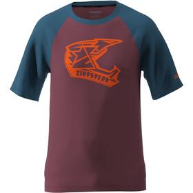 Zimtstern Faze T-Shirt Herren rot/blau